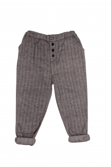 Pantaloni Billy din bumbac organic, model spic